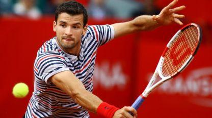 Григор Димитров отпадна от тенис турнира в Мадрид