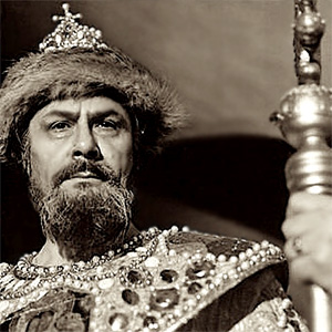 В ролята на Борис Годунов