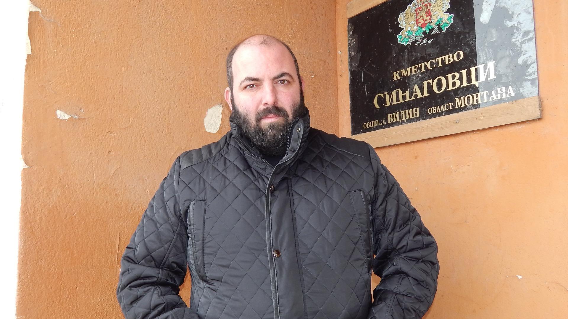 Иван Иванов, кмет на с. Синаговци
