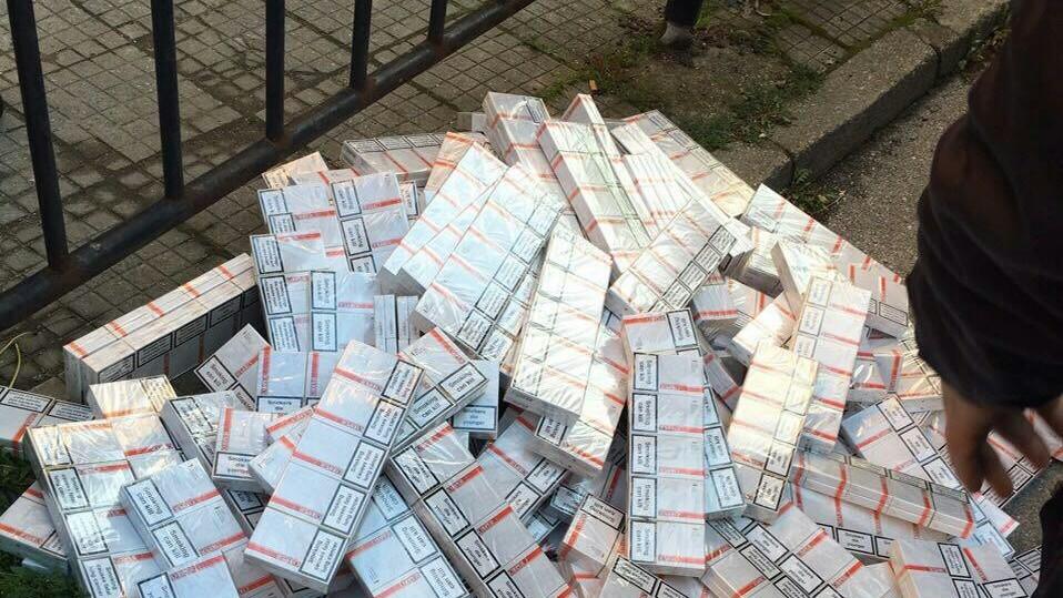 150 хиляди къса цигари без бандерол бяха иззети при операция