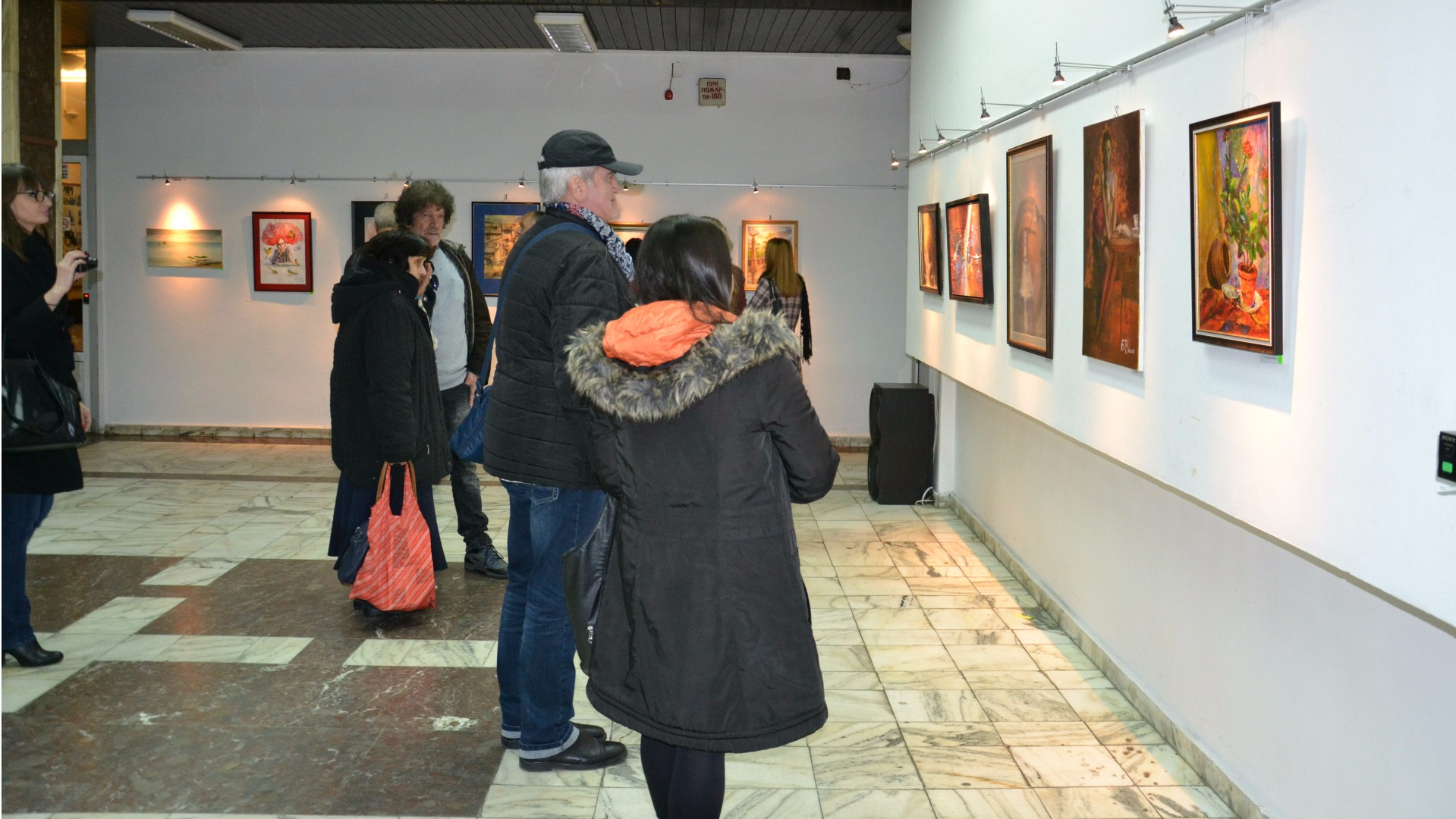 Студентска изложба в Арт салона на Радио Благоевград