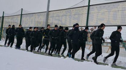 Ботев започна зимната си подготовка