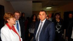 Герго Гергов след заседанието на Окръжен съд- Видин на 21 октомври