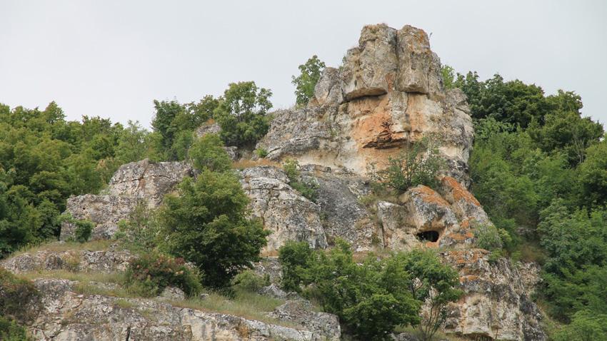 Львиная голова, каньон Суха-Река, с. Зимница