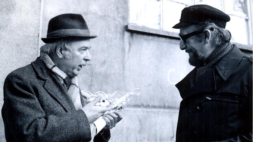 Петър Ступел (вляво) и Атанас Бояджиев