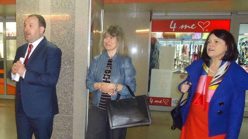 Jaroslav Godun, Amelia Licheva and Luigina Peddi