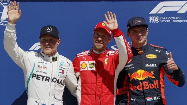 Фетел потегля първи за Гран при на Канада