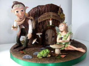 Торта направена от Златина Люис