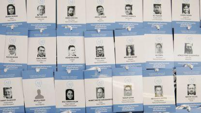 Картите за символична акредитация на турските журналисти