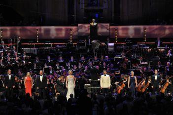 """Концерт """"Бърнстейн – сцена и екран"""" в Роял Албърт хол."""