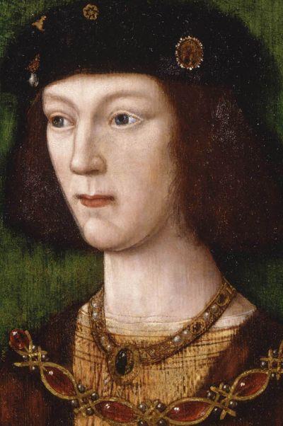 Крал Хенри VІІІ на 18 години