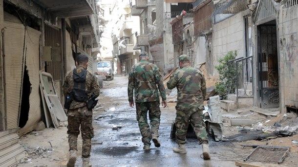 Сирия, район Източна Гута