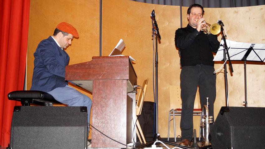 Братята Александър и Константин Владигерови по време на срещата с Димитър Динев в Бад Ишъл, Залцкамергут, Горна Австрия