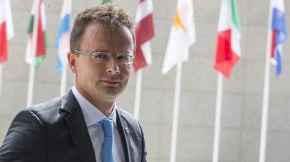 Петер Сиярто - външен министър на Унгария