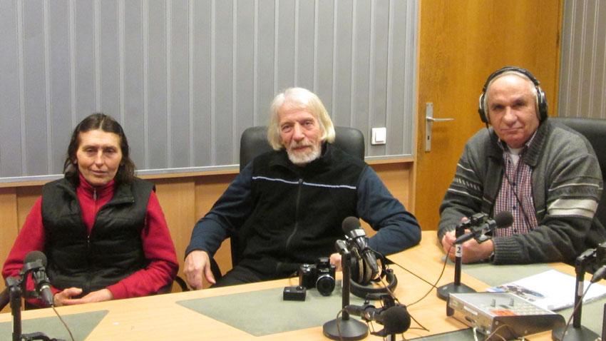 Виолета Панева, Владимир Тасев и Симеон Идакиев (отляво надясно).