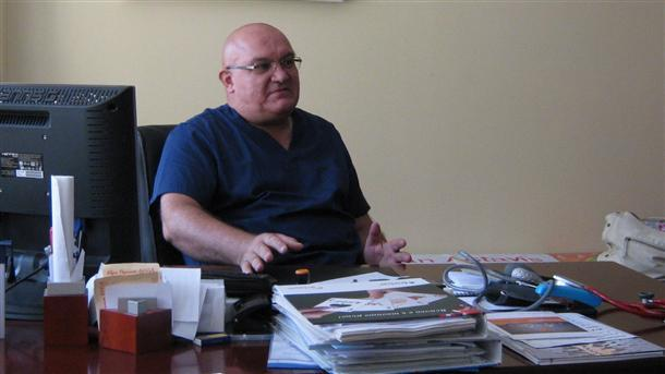 Кардиологът д-р Цветан Ценков