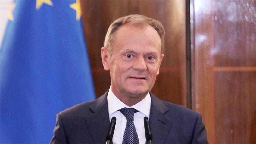 Председателят на Европейския съвет Доналд Туск призова съюзникът на Русия