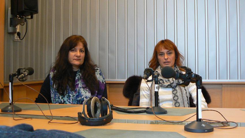 Вера Иванова (вляво) и Росица Букова