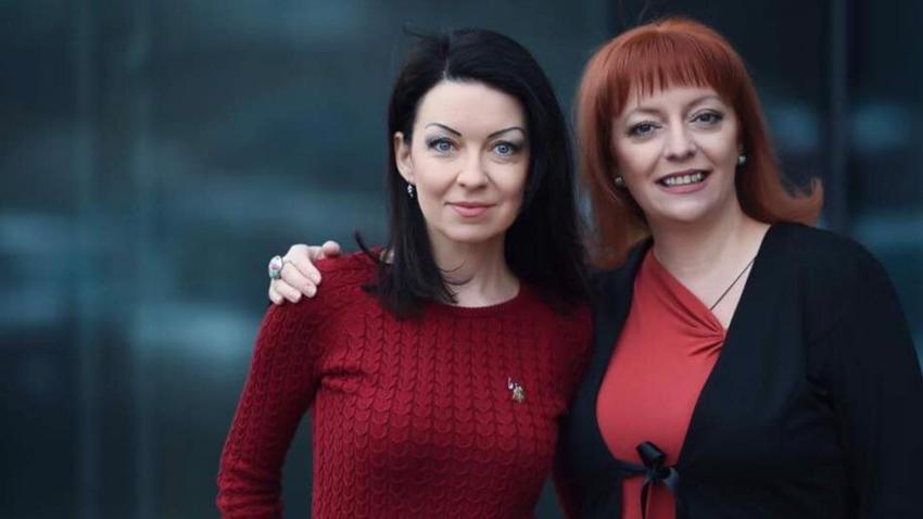Dr. Sofia Ferdinandova and Dr. Milena Tashkova