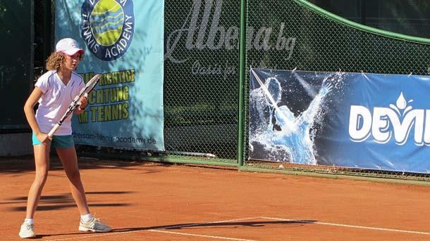 Даниела Димитрова спечели българското дерби на полуфиналите на тенис турнира
