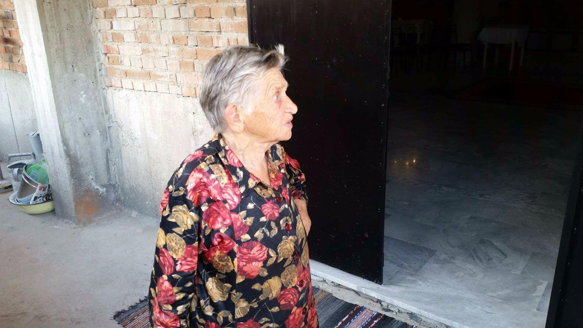 Атлаза Щерева, която от години събира даренията за построяването на храма