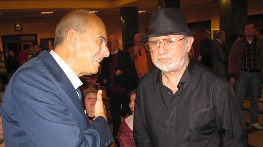 Кристиян Бояджиев и Милчо Левиев, 2010 г.