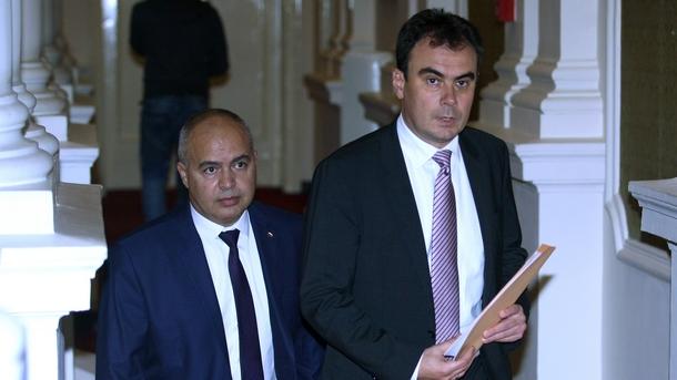 Жельо Бойчев (в дясно) и Георги Свиленски