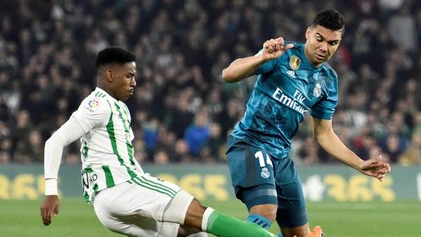 """""""Реал"""" (Мадрид) победи """"Бетис"""" с 5:3"""