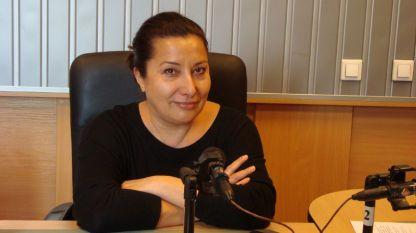 Оперната певица Дарина Такова.