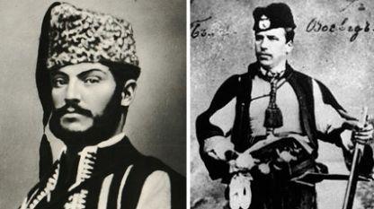 Стефан Караджа (вляво) и Хаджи Димитър