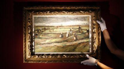 Пейзажът на Ван Гог