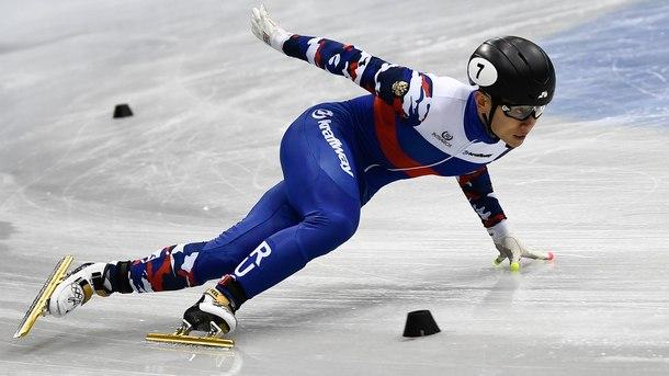 Шесткратният олимпийски златен медалист в шорттрека Виктор Ан е получил