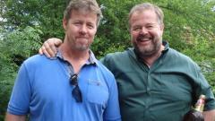 Винсънт и Дейвид (от ляво на дясно)