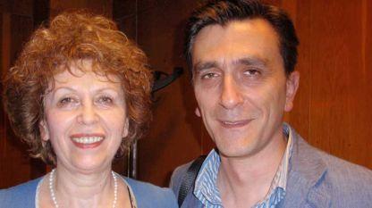 проф. Фани Мартинова и Иван Мартинов