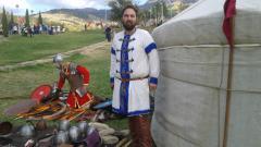 По време на Празниците на крепостта Туида, Сливен.