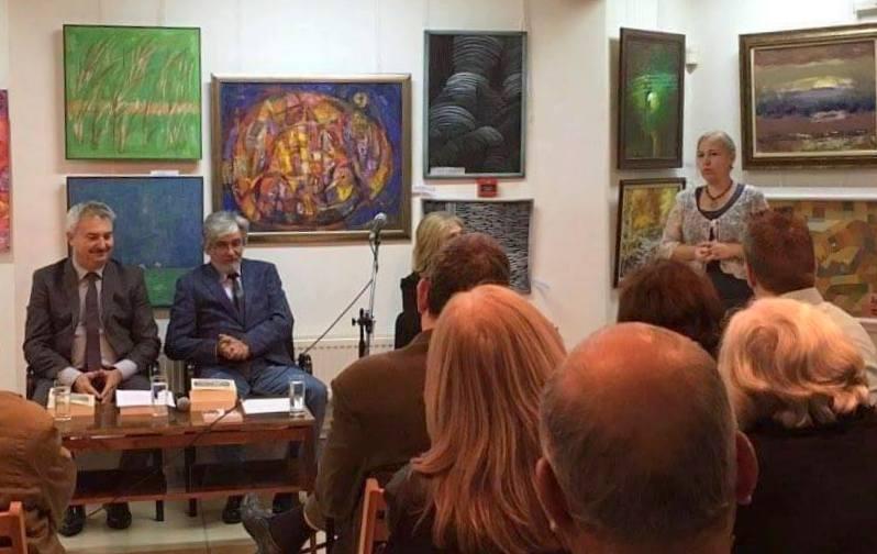Представяне на Алманаха, Снимка: Мартен Калеев, Личен архив