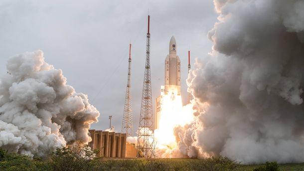 """През декември 2017 г. от европейския космодрум в Куру, Френска Гвиана, бяха изстреляни още 4 сателита за """"Галилео""""."""