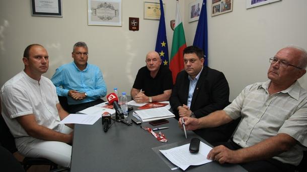 Среща между членове на ръковоството на БСП и Конфедерацията на обществени организации от сигурността и отбраната