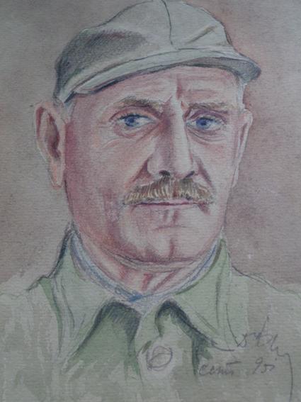 Petır Bayçev'in otoportresi