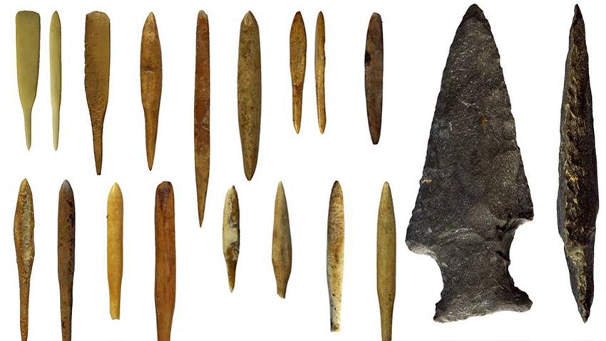 Върхове на стрели на 5000 години