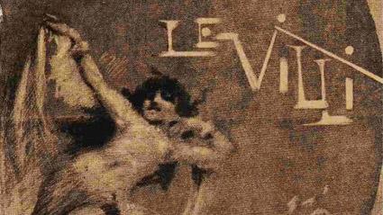 """Част от скицата на Н. Беста за """"Вилиси"""", публикувана в Gazzetta Musicale di Milano (1884 г.)"""