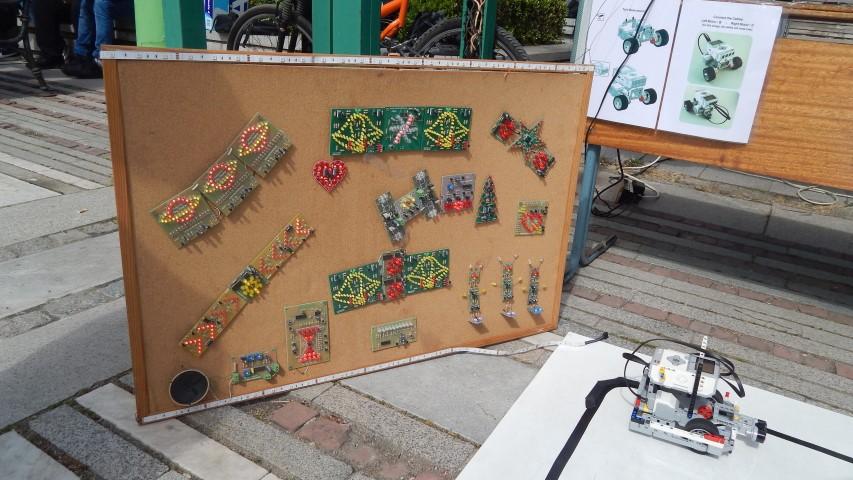 Макет на реално творение на Фестивала