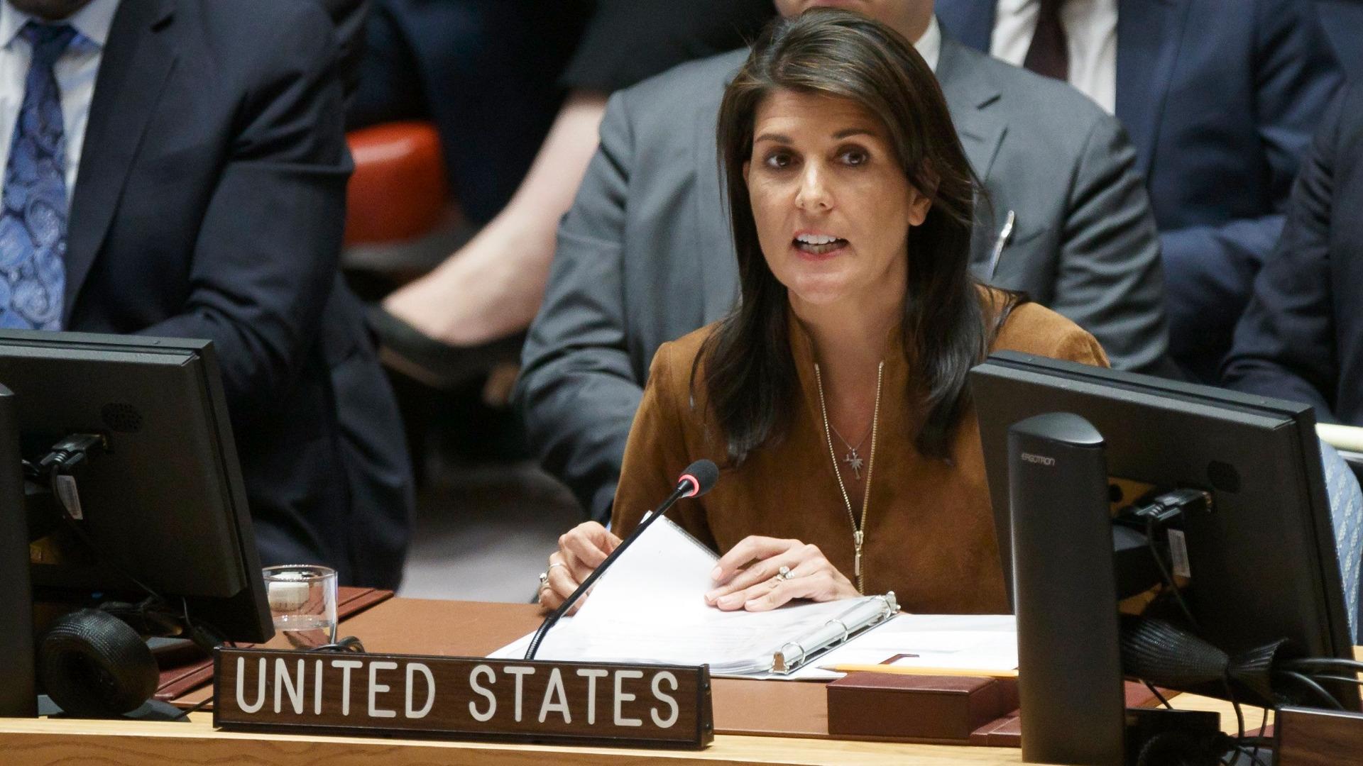 Посланикът на САЩ в ООН Ники Хейли