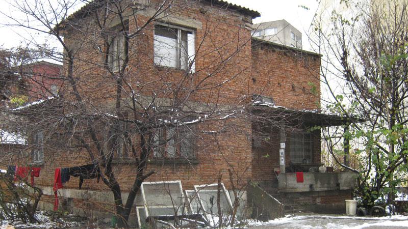 Къщата, в която са открити чужденците