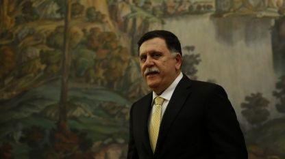Файез ас Сарадж - ръководител на международното признато правителство в Триполи.