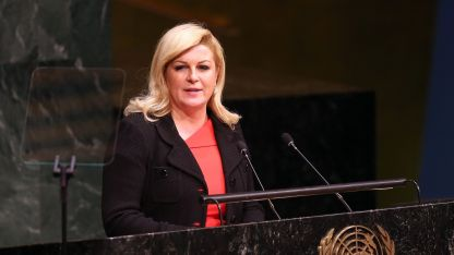 Президентката Колинда Грабар-Китарович е кандидатка за още един мандат