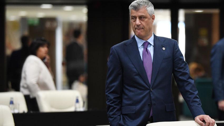 Президентът на Косово Хашим Тачи заяви, че е време за