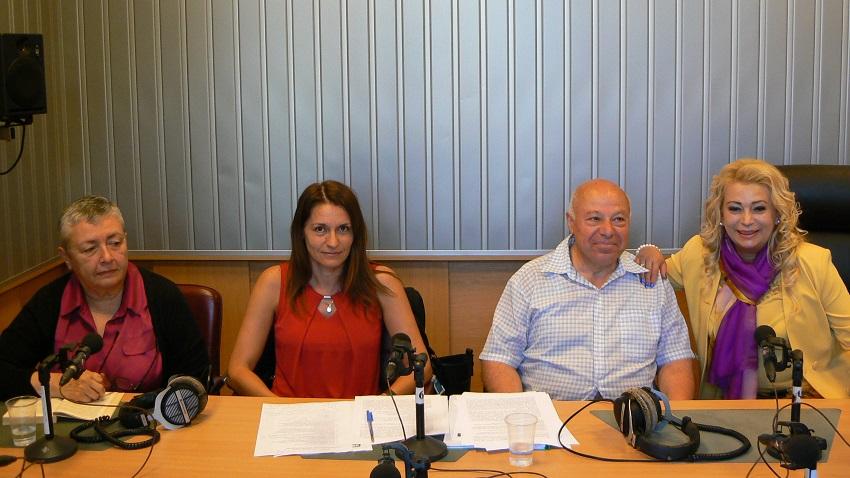 Проф. Момяна Гунева, Даниела Йорданова, адвокат Захари Генов и Анелия Торошанова