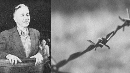 Der Führer der Bauerunion Nikola Petkow