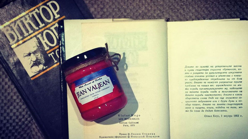 Victor Hugo, Les Miserables, Jean Valjean – sandal tree, muscus, sugar, cinnamon and vanilla